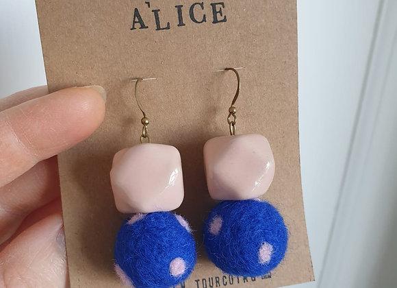 Boucles d'oreilles Alice