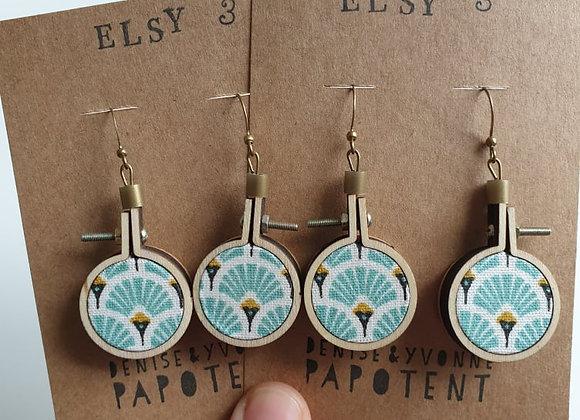 Boucles d'oreilles Elsy 3