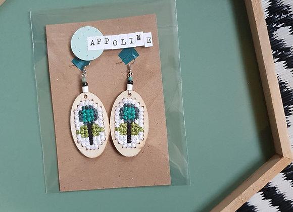Boucles d'oreilles Appoline