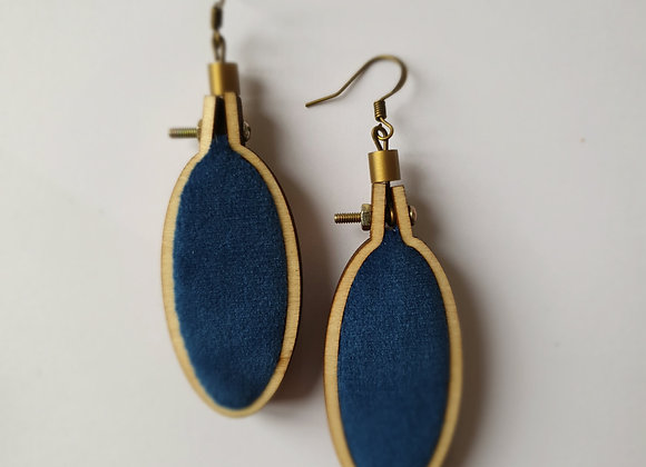 Boucles d'oreilles Mucha 2