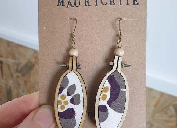 Boucles d'oreilles Mauricette