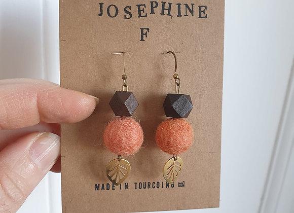 Boucles d'oreilles Joséphine F