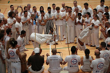 Escola Nestor Capoeira, mestre Wagner Lagartixa et Itapuã Beiramar