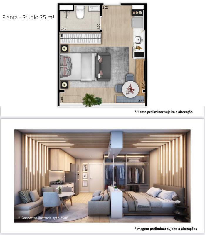 Planta - Studio 25 m².png