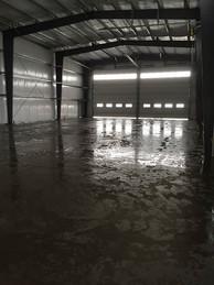 Nucor Building & Concrete Floor