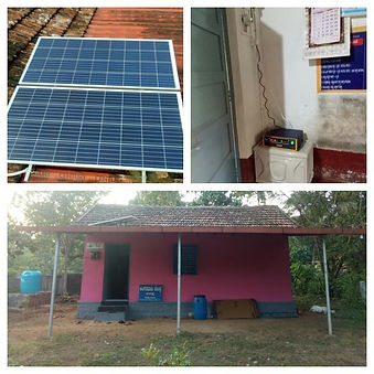 Installation of Solar Panels in all AWCs wockhardt foundation NGO