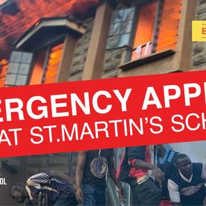 Devastating fire destroy's secondary school dorm & solar panels