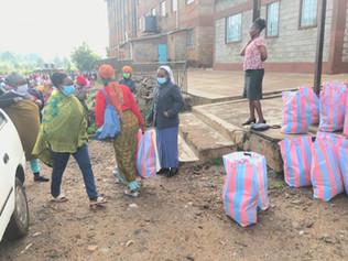 Feeding Families in Kibagare   Thank You