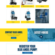 Blue Angel Website Design
