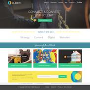 Cleriti Website Design