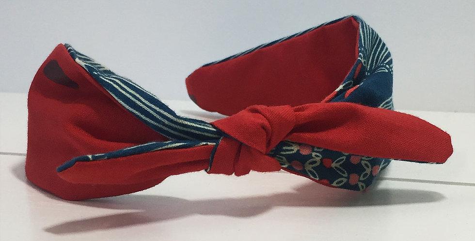 Headband - Red & Blue