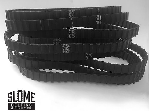 10 (qty) D210L050 Dual Timing Belts (Use Order Now Link at Bottom)
