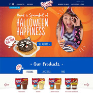 Snack Pack Site Redesign