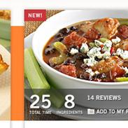 ConAgra Foods Recipe Tool