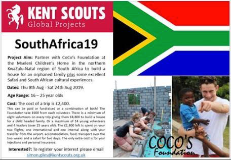 KENT SCOUTS - GLOBAL PROJECTS - SOUTHAFRICA19
