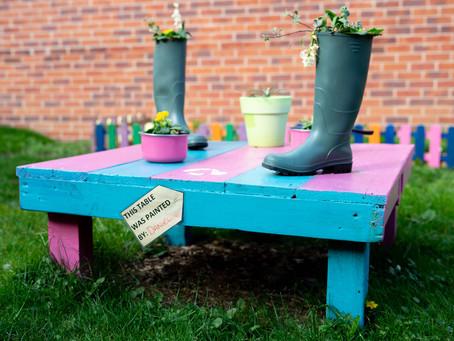 Patients Develop Our Sensory Garden