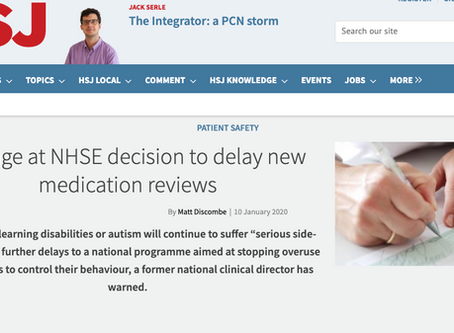 Outrage at NHSE decision to delay new medication reviews | News | Health Service Journal