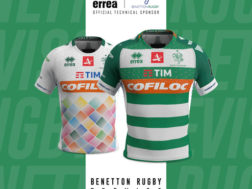 Erreà Sport and Benetton Rugby unveil the new 2019-2020 official kits..