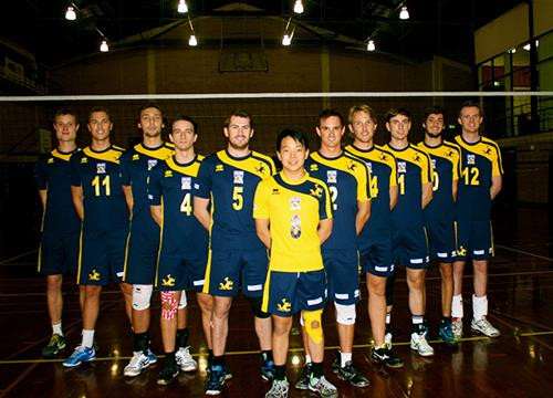 UWA VOLLEYBALL TO REPRESENT AUSTRALIAN UNIVERSITIES IN SOUTH KOREA 2014