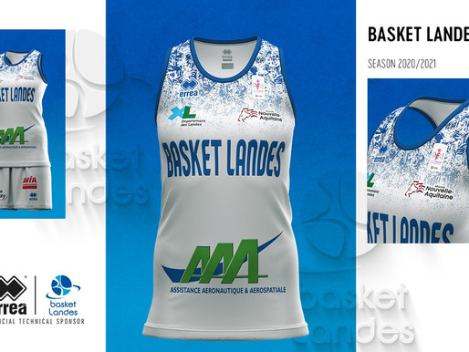 TRADITION COMBINED WITH FEMININITY FOR THE NEW 2020-2021 BASKET LANDES KITS