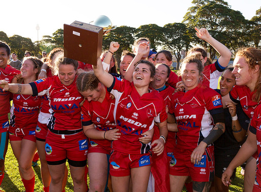 The French Women's Rugby Club de la Marine Nationale (RCMN) 2-week rugby tour to Australia culminate