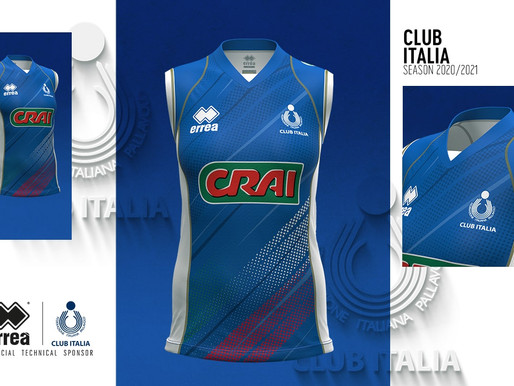 IDENTITY AND ELEGANCE: PRESENTING THE NEW 2020-2021 OFFICIAL KITS FOR THE CLUB ITALIA GIRLS' TEAM