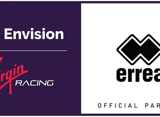 ERREÀ SPORT IS THE NEW OFFICIAL TEAM CLOTHING PARTNER & MERCHANDISER OF THE ENVISION VIRGIN RACING F