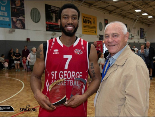 ST GEORGE BASKETBALL - NSW BASKETBALL MEN'S DIV 1 WINNERS