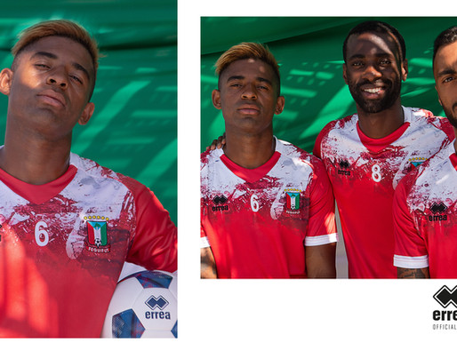 THE NEW OFFICIAL KITS OF THE EQUATOGUINEAN FOOTBALL FEDERATION PRESENTED WITH A DEDICATED PHOTOSHOOT