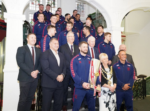 The City of Wigan celebrates a truly extraordinary 2018 for its Warriors
