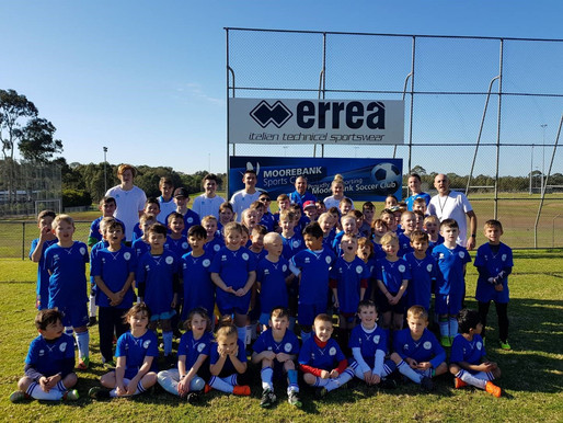 2018 marked the inaugural Moorebank Soccer Holiday Clinic.
