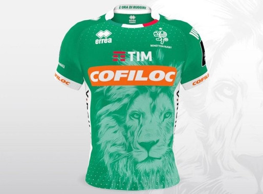 Benetton Treviso have revealed their brand new 2018/19 home and away jerseys