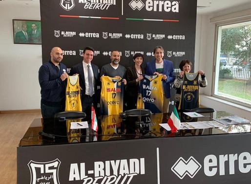 ERREÀ SPORT IS THE NEW TECHNICAL SPONSOR FOR AL-RIYADI BEIRUT