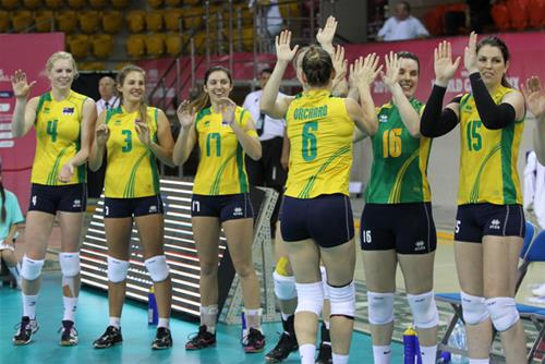 AUS Womens Volleyball