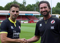 Harry Kewell Crawley Town