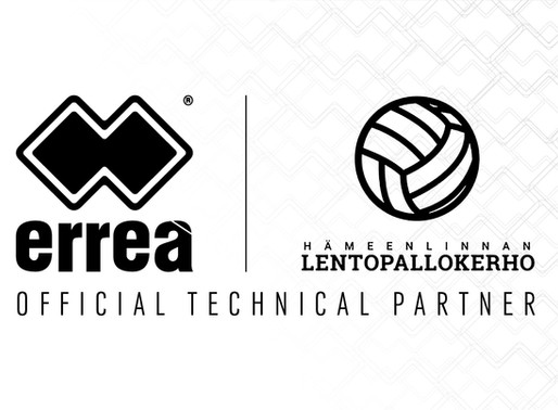 ERREÀ IS THE NEW TECHNICAL PARTNER OF THE FINNISH TOP DIVISION WOMEN'S VOLLEY CLUB HÄMEENLINNA LENTO