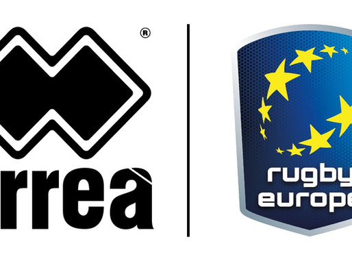 Rugby Europe sign with Erreà Sport..