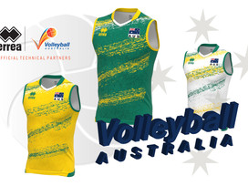 VOLLEYROOS UNVEIL THE NEW VOLLEYBALL AUSTRALIA KIT.