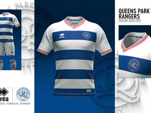 HISTORY MEETS MODERNITY IN THE QUEENS PARK RANGERS FC NEW OFFICIAL KITS FOR 2020-2021