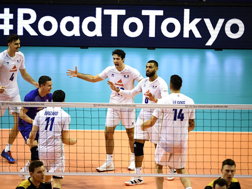 Tokyo 2020: France qualify as well!!!