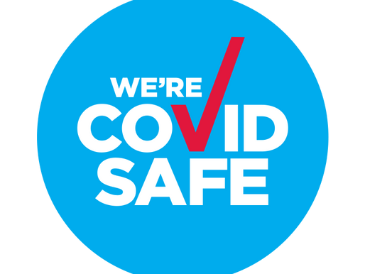 We're COVID SAFE !!
