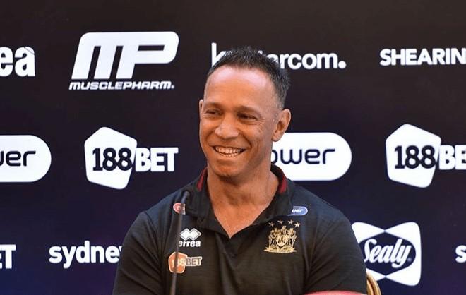 Adrian Lam (Wigan Coach 2018)
