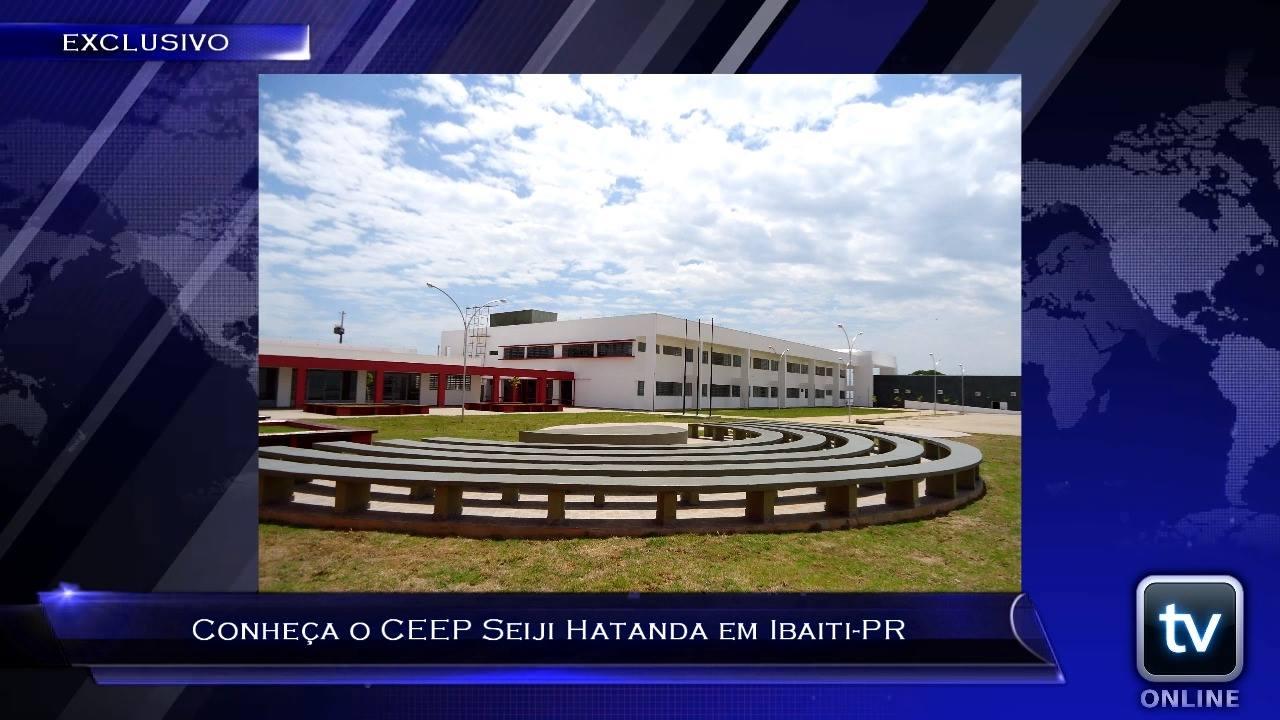 TV Online Informa - Conheça o CEEP Seiji Hatanda em Ibaiti-PR