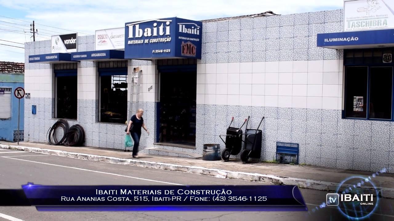 TV Ibaiti Online - Ibaiti Materiais de Construção