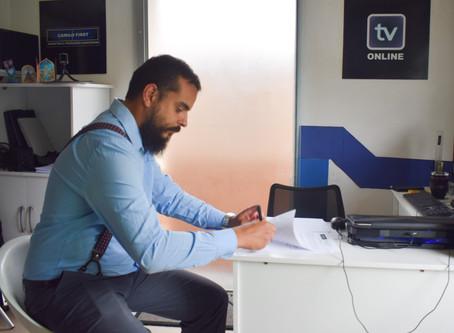 EM 2018 ANDRÉ CRUZ ASSINAVA COMO COLUNISTA TV ONLINE!