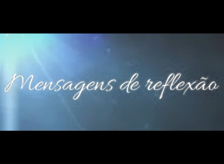 EM 2017 IA AO AR A PRIMEIRA TEMPORADA DO PROGRAMA MENSAGENS DE REFLEXÃO!