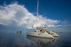 Lagoon 570 alquiler catamaran ibiza
