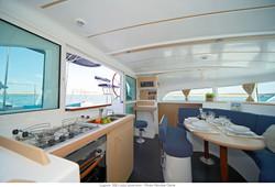 Lagoon 380 catamaran rental ibiza