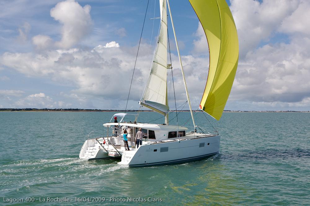 Lagoon 400 alquiler catamaran ibiza