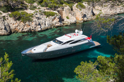 Pershing90 luxury yacht rental ibiza